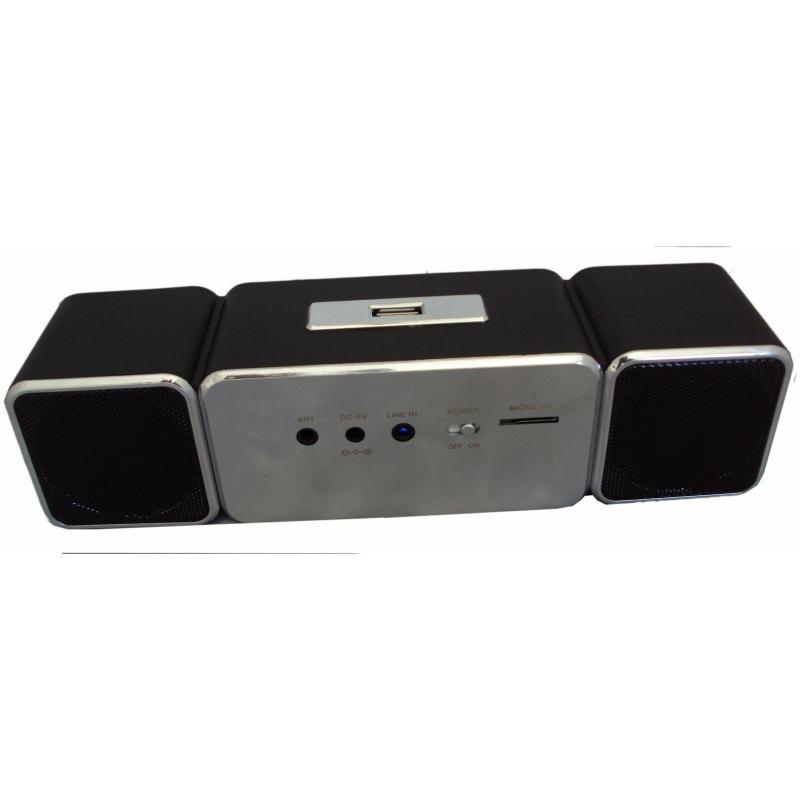 PORTABLE DIGITAL SPEAKER WITH USB MP3/4 MICRO SD/TF FM RADIO LCD DISPLAY