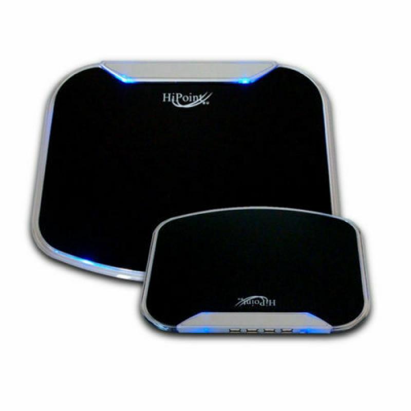 USB Anti-Slip Gaming Mousemat with High-Speed 4-Port USB Hub